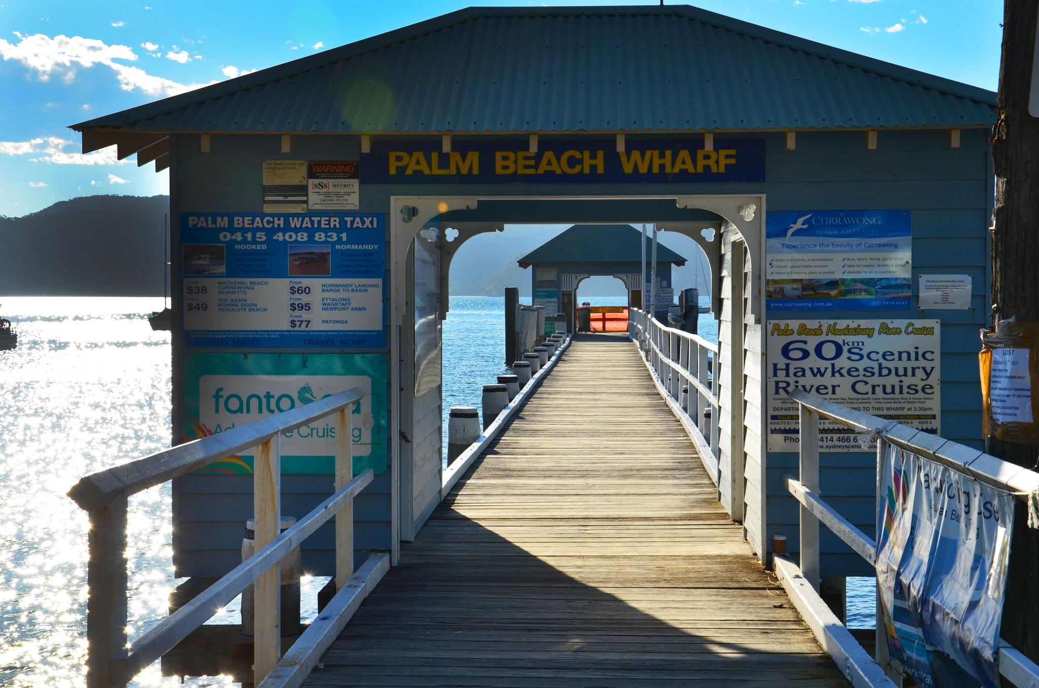 Palm Beach Wharf - Image �2014 ManlyAustralia.com