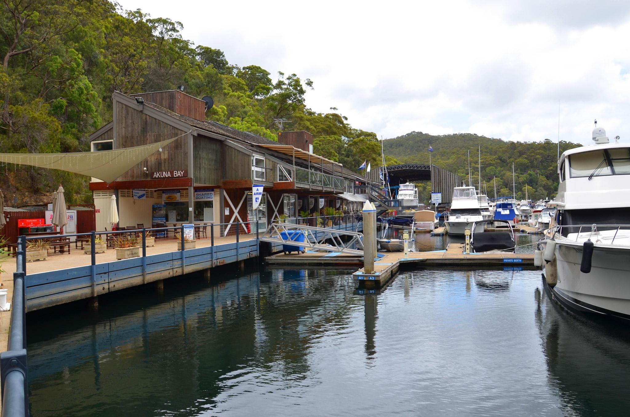 Akuna Bay - Image �2014 ManlyAustralia.com
