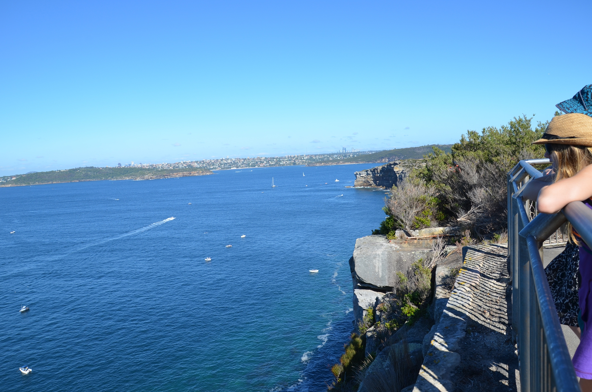 View South from North Head - Image �2014 ManlyAustralia.com