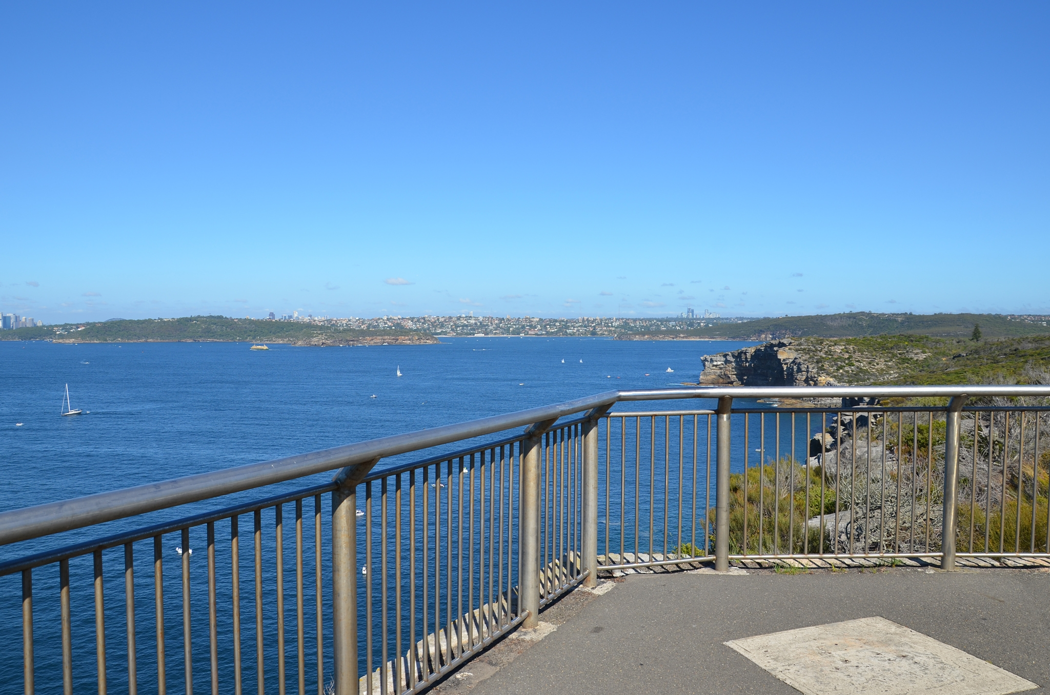 Views to South Head & Sydney - Image �2014 ManlyAustralia.com