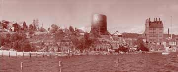 Gasworks at Little Manly Point
