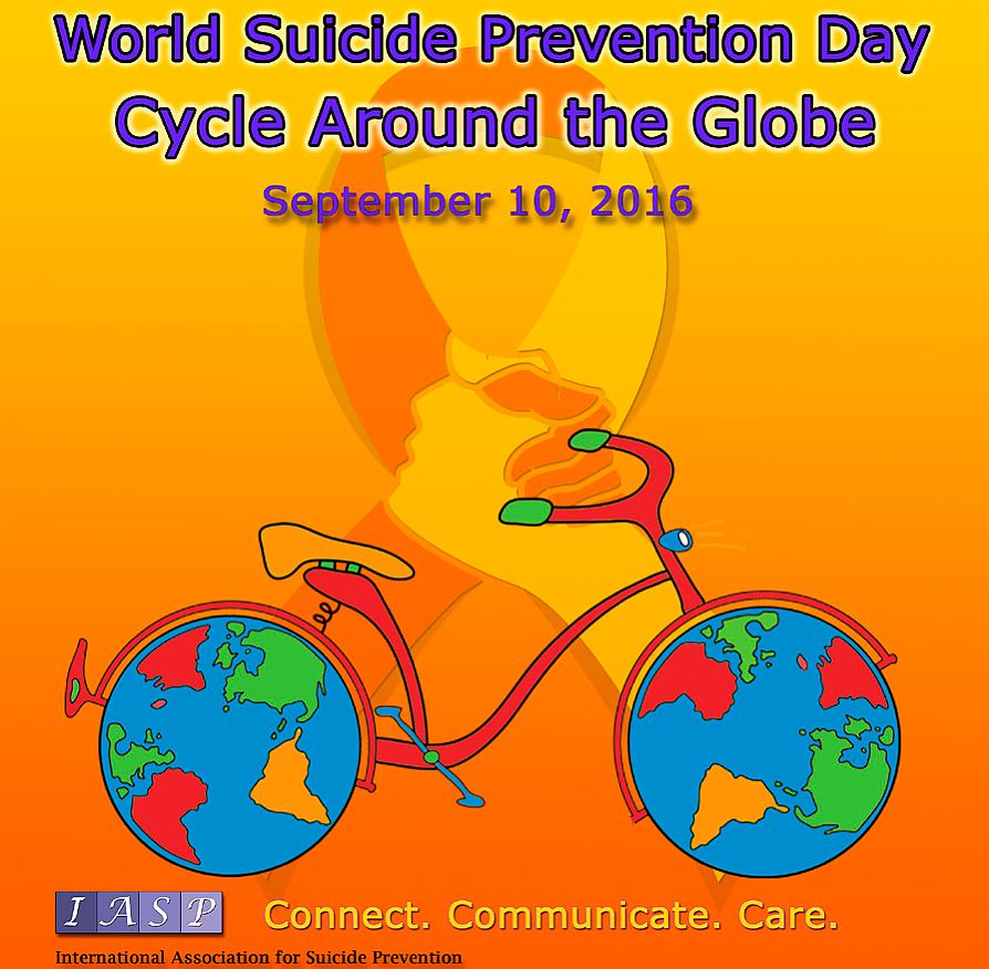World Suicide Prevention Day - 10th September 2016