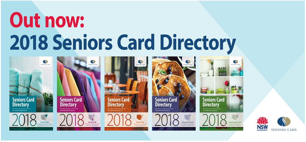 how to get a seniors card in australia