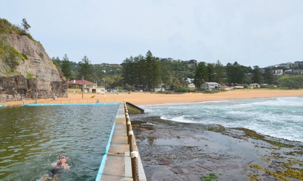 Bilgola ocean swimming pool manly northern beaches for Pool design northern beaches