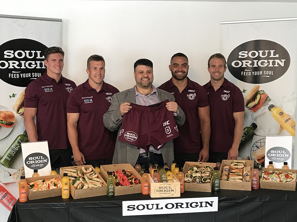 Soul Origin Soars with the Manly Warringah Sea Eagles
