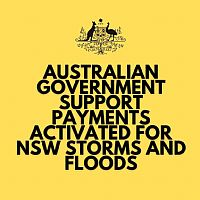 Australian Government Assistance For NSW Storms And Floods
