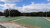 Netball courts at John Fisher Park now open