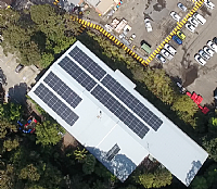 New Solar Panels at Council Save Money and Cut Carbon Emissions