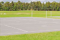 New Netball Courts in Warriewood in 2019