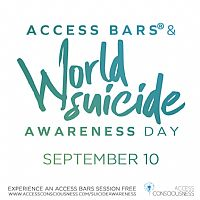 Access Bars® Practitioners Open Doors for World Suicide Prevention Day