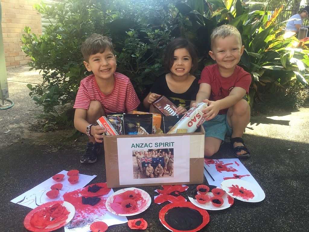 Northern Beaches Kids Send Care Packages to our Troops Serving Overseas