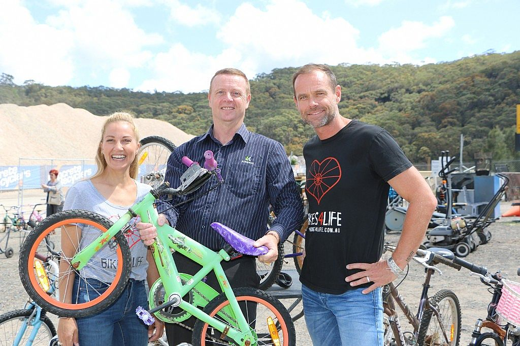 Partnership will See Hundreds of Bikes Diverted from Landfill and Go to Communities in Need