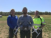 Council First - Staff Undertake Essential Drone Training