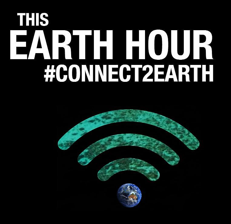 Are You Switching Off? Earth Hour is 30 March from 8.30pm to 9.30pm