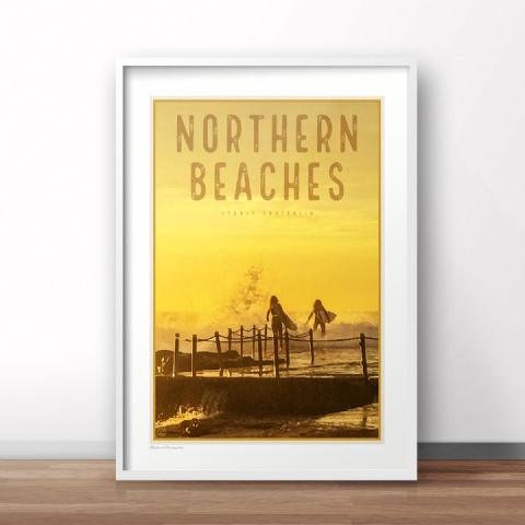 Northern Beaches vintage Travel style