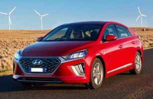Electric Vehicle - Hyundai Ionic