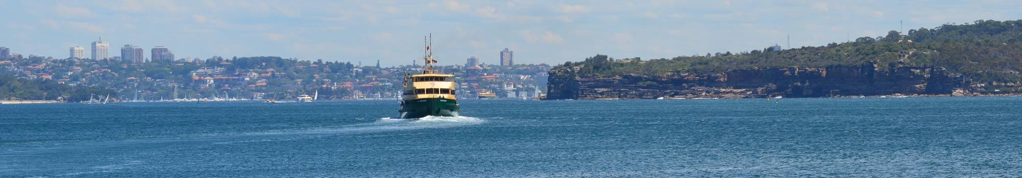 Manly Ferry Information - Manly & Northern Beaches Australia